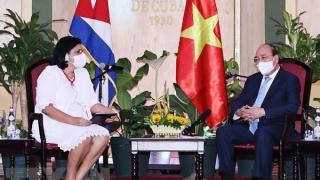 President receives leaders of Cuba – Vietnam friendship organisations
