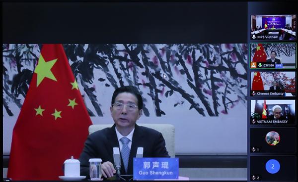 Vietnam, China boost cooperation in crime combat -0