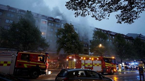 Explosion hits building in Sweden's Gothenburg, 25 in hospital -0