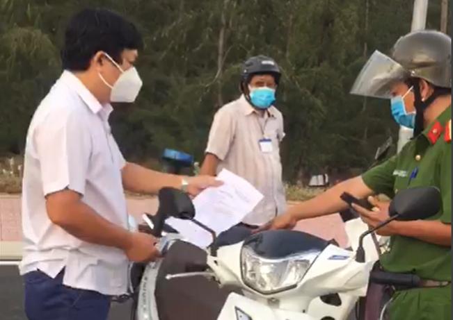 Vi phạm phòng, chống dịch, Trưởng Ban KT-NS HĐND tỉnh Phú Yên cùng một phụ nữ bị xử phạt. -0
