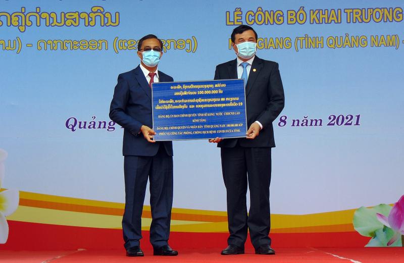 Khai trương cặp Cửa khẩu quốc tế Nam Giang - Đắc Tà Oọc -0
