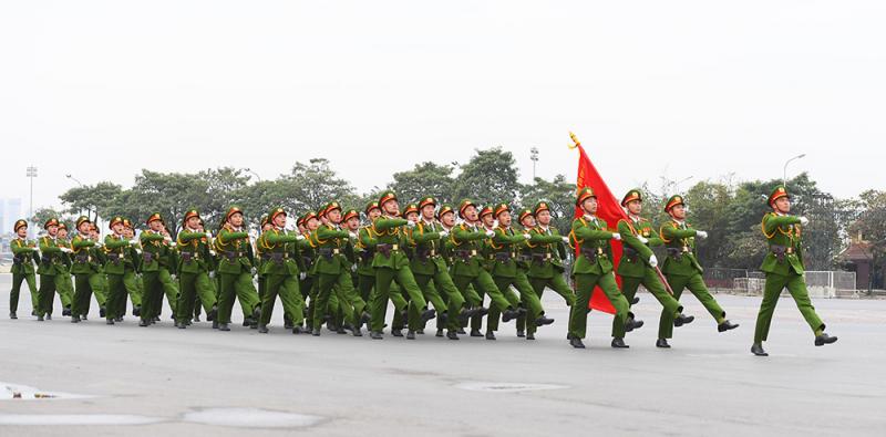 Phát huy truyền thống vẻ vang, xây dựng lực lượng Công an nhân dân cách mạng, chính quy, tinh nhuệ, hiện đại, góp phần đắc lực xây dựng và bảo vệ Tổ quốc -0