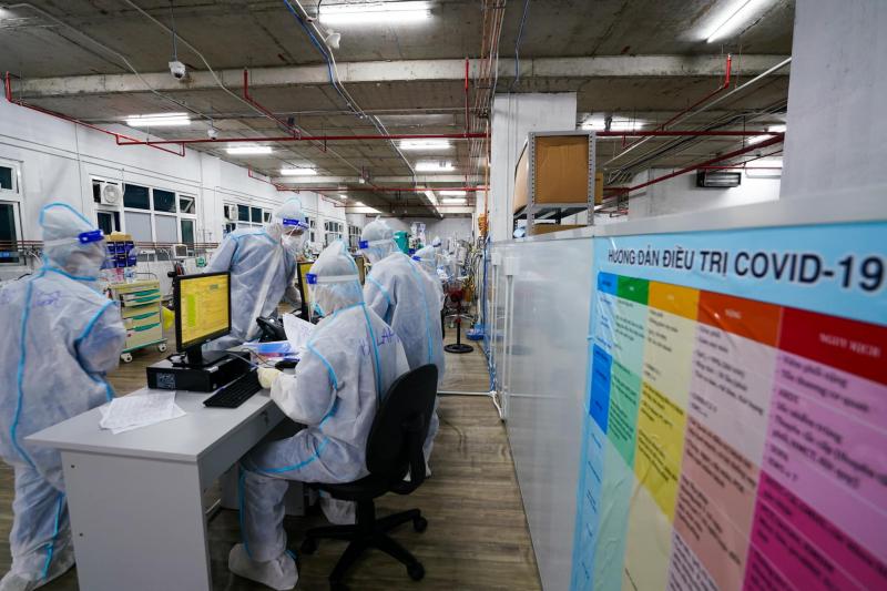 Ngày 5/9, Việt Nam tăng 3.580 ca mắc COVID-19, hơn 9.200 bệnh nhân ra viện -0