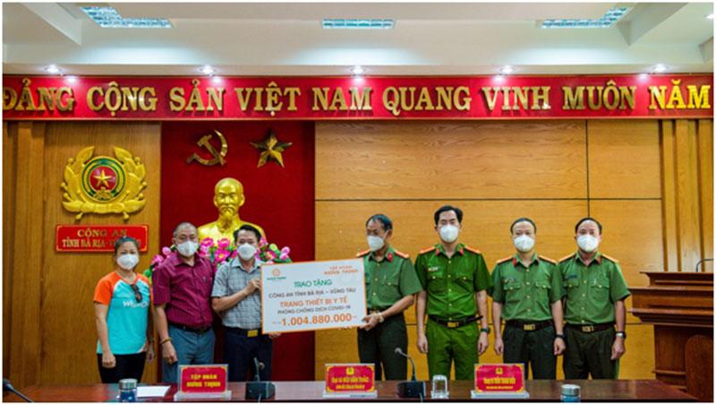 Tập đoàn Hưng Thịnh tiếp tục chung sức cùng các địa phương phòng, chống dịch COVID-19 -0