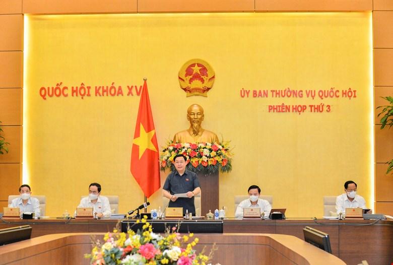Thảo luận kỹ các phương án tổ chức Kỳ họp thứ hai, Quốc hội khóa XV -1