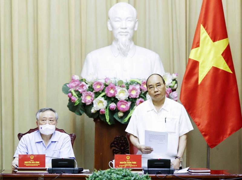 Chủ tịch nước làm việc với các cơ quan về giải quyết hồ sơ án tử hình -0