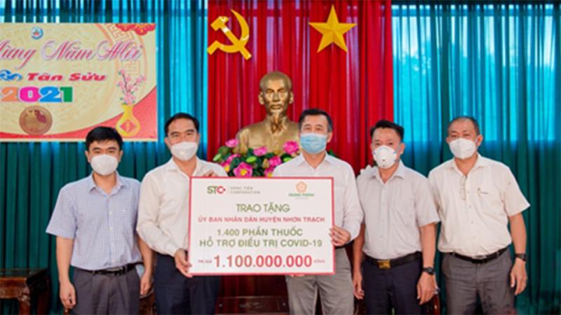 Tập đoàn Hưng Thịnh tiếp thêm nguồn lực giúp các tỉnh, thành chống dịch COVID-19 -0