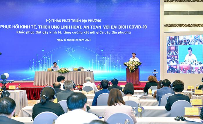 Thủ tướng lắng nghe ý kiến về thích ứng an toàn, phục hồi và phát triển kinh tế -0